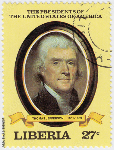 3rd president of USA Thomas Jefferson