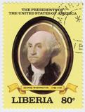 first president of USA Jeorge Washington poster