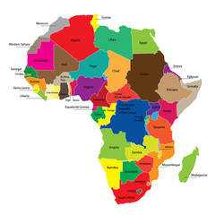 Map of Africa © Hamik