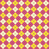 Yellow&purple argyle pattern