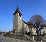 Veigy-Foncenex parish, France poster