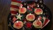 Patriotic cupcake dessert!