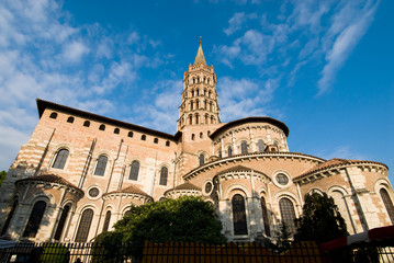 St Sernin Basilica in Toulouse