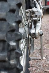 Rear of Dirtbike