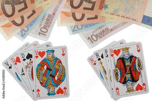 jeu de cartes en ligne belote poker rami de mimon photo libre de droits 30811103 sur. Black Bedroom Furniture Sets. Home Design Ideas
