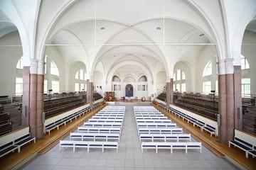 Interior German Saint Peters church (Saint Petersburg)