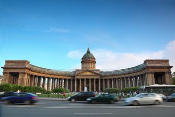 Kazan Cathedral on Nevsky Prospect in St. Petersburg