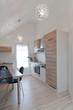 Küche in Dachwohnung