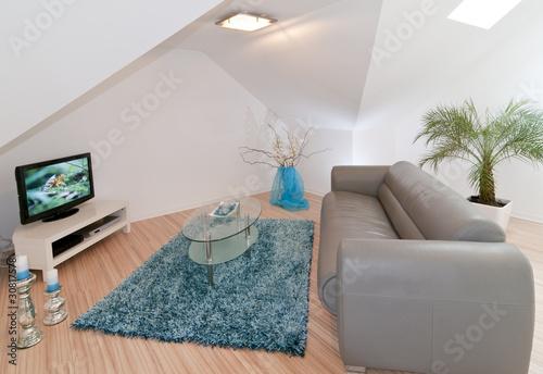 stylisches Wohnzimmer von ARochau, lizenzfreies Foto #30817578 auf Fotolia.com