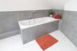 stylische Badeinrichtung
