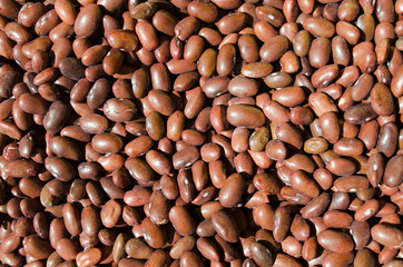 Brown beans - healthy fiber food
