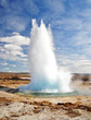 Famous Geyser eruption in a sunny day, Iceland - 30821700