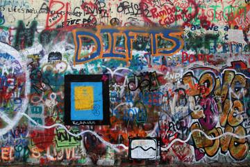 John Lennon Wand Prag