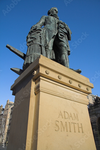 Adam Smith, Royal Mile, Edinburgh, Scotland