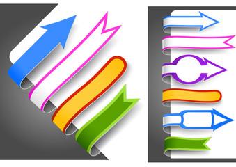 Colour bookmarks