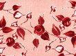 Roses rouges à l'ancienne.