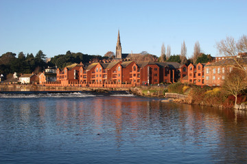 Exeter by River Exe