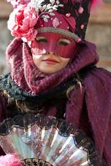 Carnevale di Venezia, giovane maschera