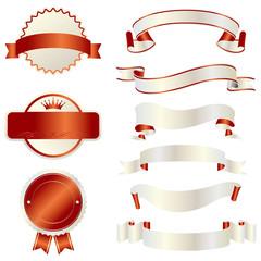 ribbon set of Japan color