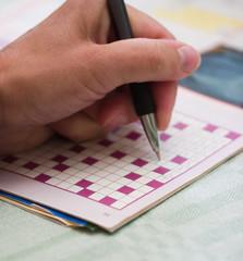 Solving crossword