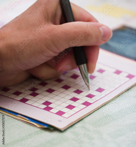 Solving crossword