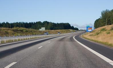 European roadway