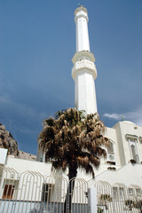 Mosque at most southern point of Europe on Gibraltar