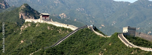 Fotobehang Chinese Muur Great Wall china