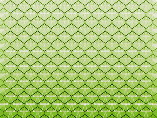seamless abstract green graphic honeycomb cell shapes