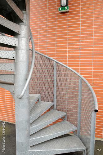 Escalier de secours occasion