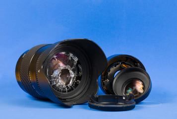 broken lenses