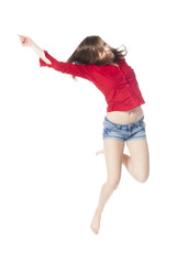 gestuelle dynamique et mouvement de joie