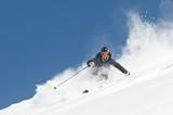 Fototapeta rekreacja - góry - Sporty Zimowe