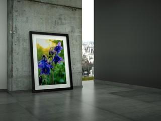 """3d Rendering Galerie """"Akelei"""""""