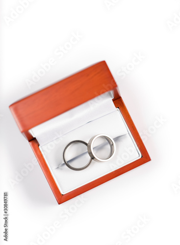 Rings in box