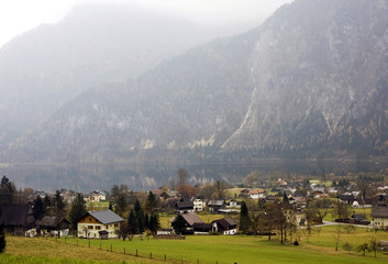 Altaussee alpine village in Austria