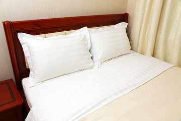 Bed in room