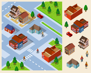 Countryside Isometric.