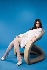 Nurse sitting in a chair