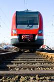 Fototapeta lokomotywa - mobilizacja - Kolej