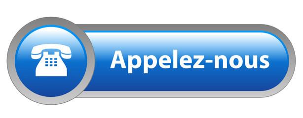 Bouton Web APPELEZ-NOUS (service clients contact contacter aide)