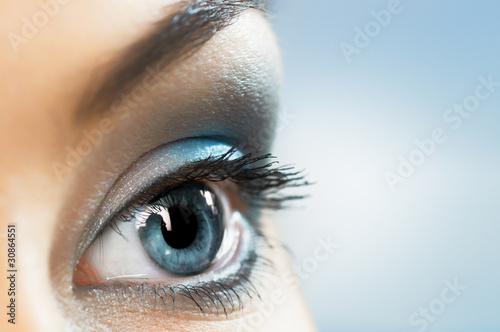 Fototapeten,pflege,schönheit,auge,close-up