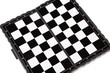 Chessboard isolated on a white background