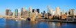 Manhattan skyline panorama