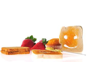 Desayuno sano.