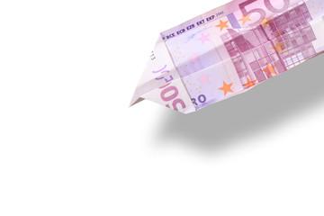 Papierflieger 500 €