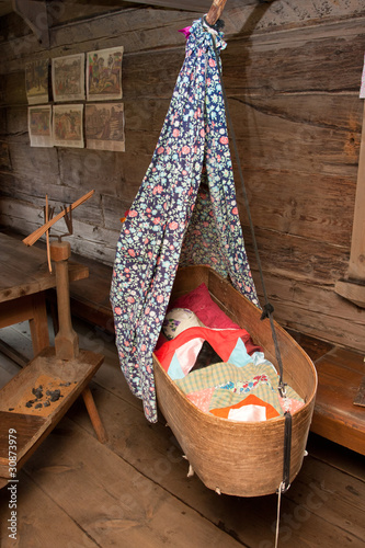 poster of Suzdal - a museum of wooden architecture - an interior of the ho