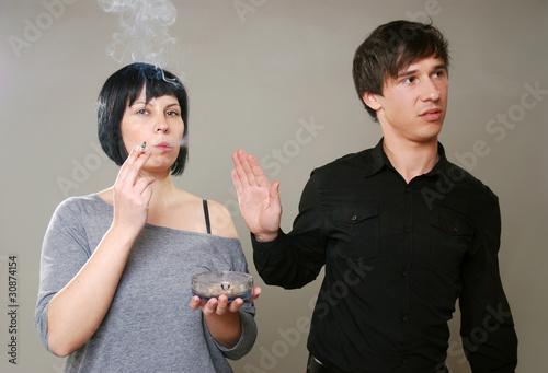 Raucher vs Nichtraucher