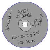 data backup, data storage poster