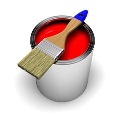 Lata de pintura